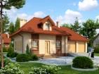 Проект комфортного дома с гаражом и мансардой
