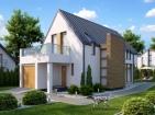 Проект одноэтажного частного дома с мансардой